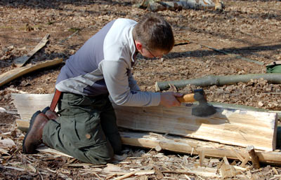 Woodlore's Camp Craft course
