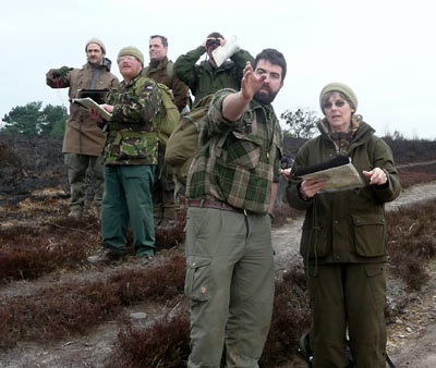 Students on our Wilderness Navigation Course