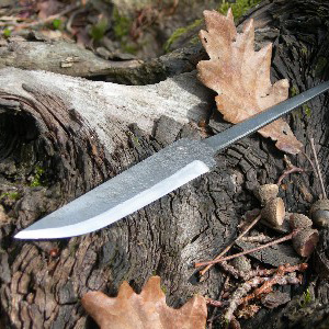 The Hand-forged Knife Blade