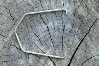 Paul's custom-made wire cup hanger