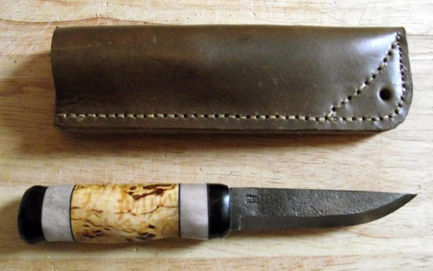 Declan's finished Julius Pettersson Knife