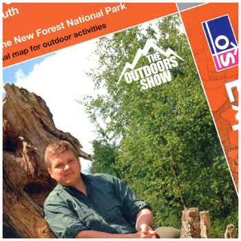Limited-edition Ray Mears OS Explorer Map - The New Forest