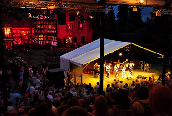 Gawsworth Hall's Open Air Theatre