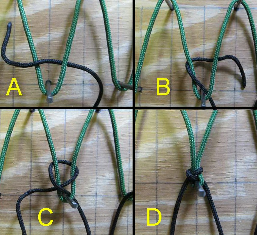 How to make your own hammock part 2 the ray mears for Make a rope hammock