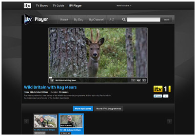 ITV Player - Wild Britain with Ray Mears