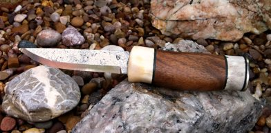 Roger Howard's finished knife