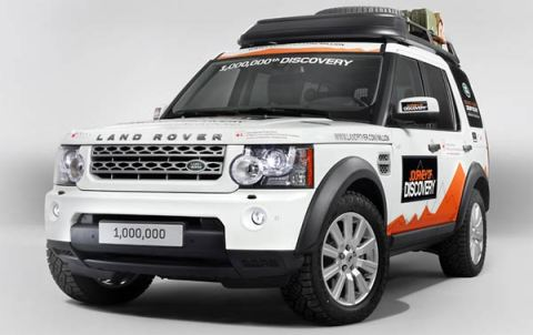 The one millionth Land Rover Discovery