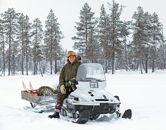 Ray Mears in Northern Sweden