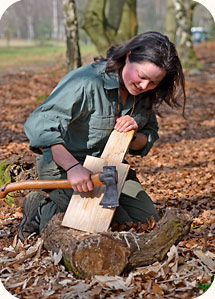 Woodlore Aspirant Instructor Sarah Day