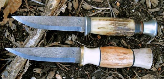 A fine-looking pair of hand-finished knives