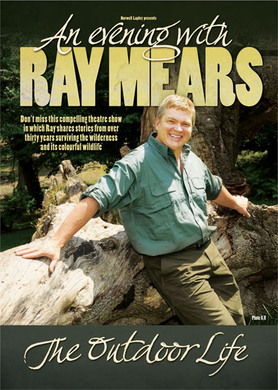 An Evening with Ray Mears 2013 Tour