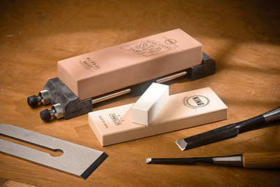 How To Sharpen Your Knife Or Axe With Ice Bear Waterstones The Ray