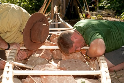 Birch Bark Canoe Building with Ray Mears and Pinock Smith - Day 5