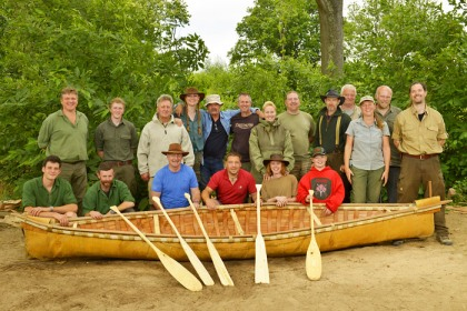 Birch Bark Canoe Building with Ray Mears and Pinock Smith
