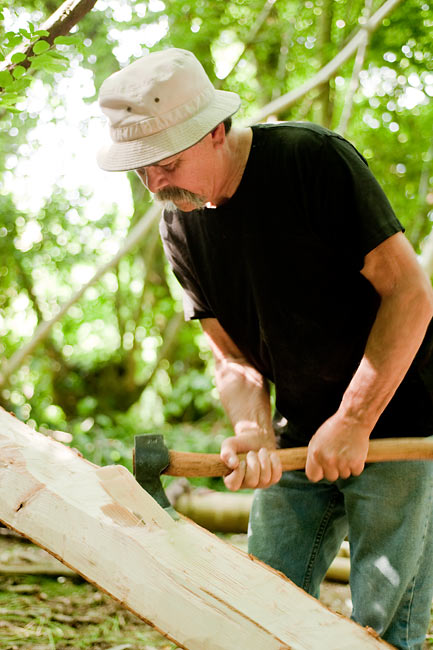 Birch Bark Canoe Building with Ray Mears and Pinock Smith