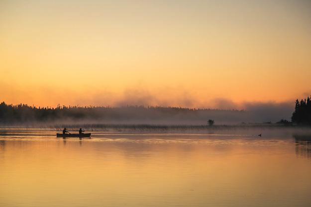 Mist-Lake