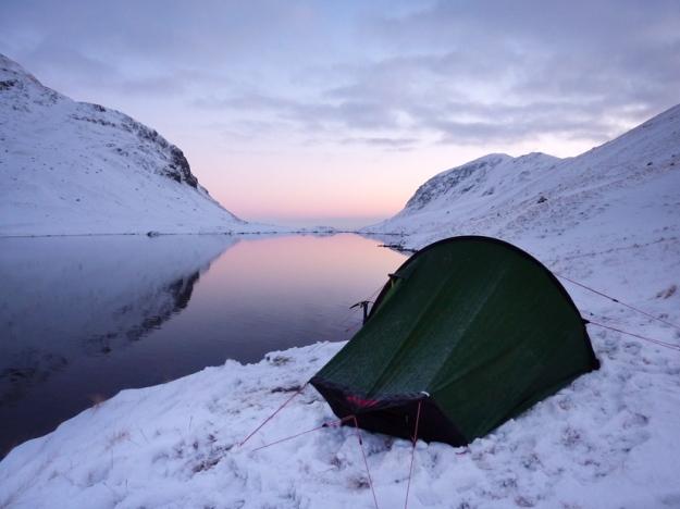 Grisedale-Tarn-Akto-Camping-Winter-1