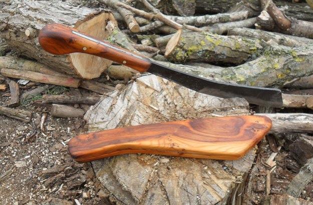 Making a Jungle Parang | The Ray Mears & Woodlore Bushcraft Blog