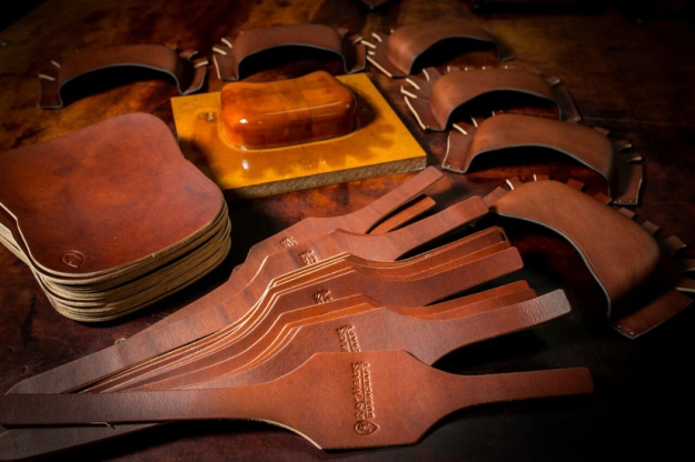 Ray Mears Leather Belt Pouches